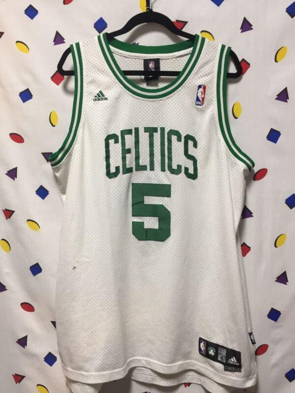 product details: NBA BOSTON CELTICS #5 GARNETT BASKETBALL JERSEY AS-IS photo