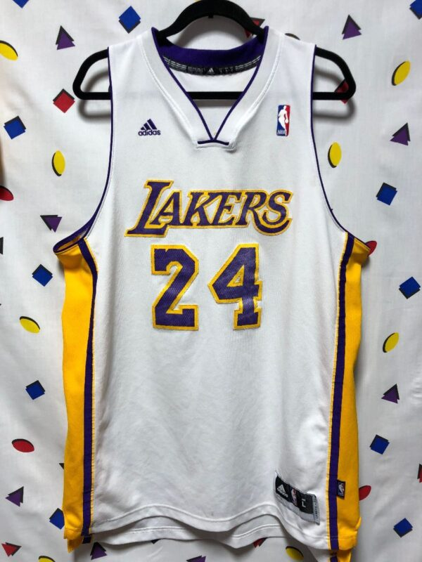 product details: NBA LOS ANGELES LAKERS #24 BRYANT BASKETBALL JERSEY photo