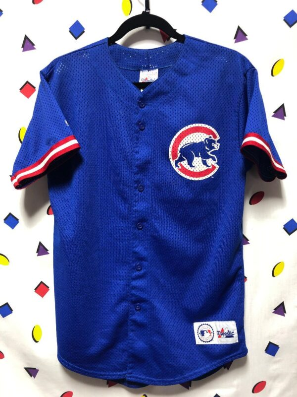 product details: MLB CHICAGO CUBS #21 SOSA BASEBALL JERSEY SMALLER FIT photo