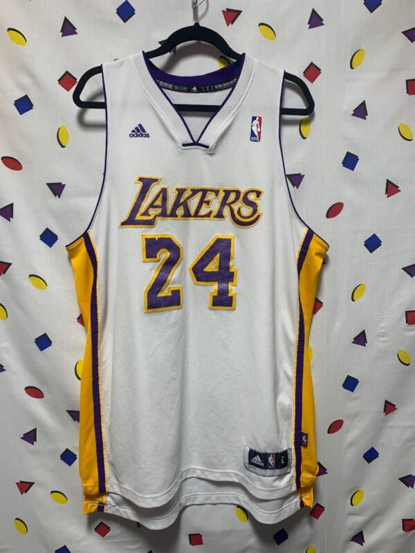 product details: NBA LOS ANGELES LAKERS #24 BRYANT BASKETBALL JERSEY AS-IS photo