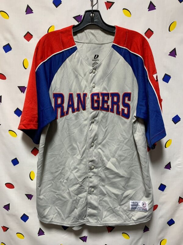 product details: MLB TEXAS RANGERS BASEBALL JERSEY AS-IS photo