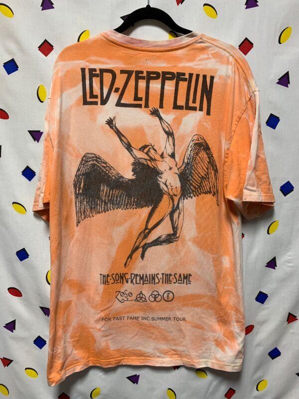 product details: LED ZEPPELIN TIE DYE SUMMER TOUR T-SHIRT photo