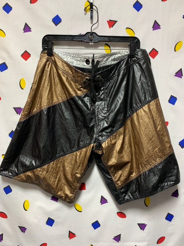 product details: METALLIC COLORBLOCK BOARDSHORTS photo