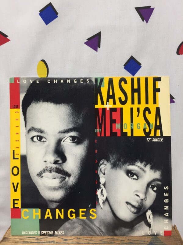 product details: KASHIF & MELI\\SA MORGAN – LOVE CHANGES photo