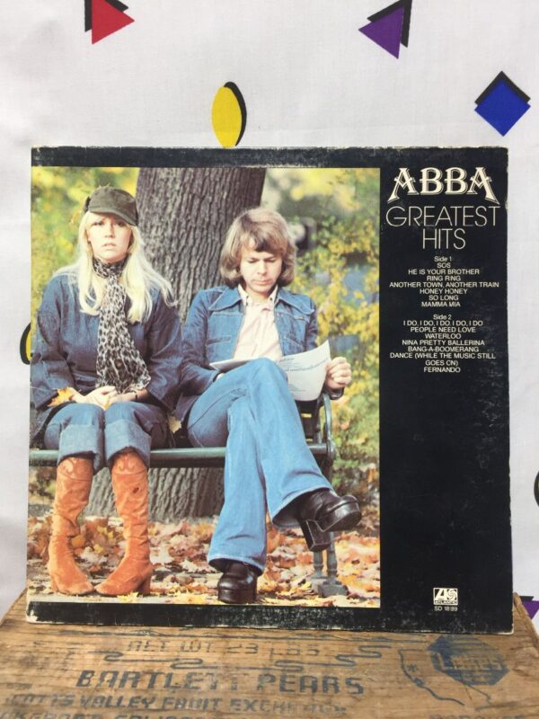 product details: ABBA ‎– GREATEST HITS photo