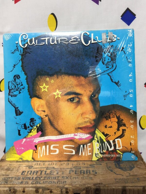 product details: CULTURE CLUB ‎– MISS ME BLIND / ITS A MIRACLE SINGLE *IN SHRINK photo