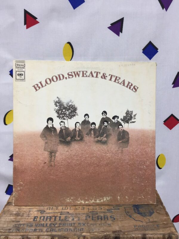 product details: BLOOD, SWEAT AND TEARS – BLOOD, SWEAT AND TEARS photo