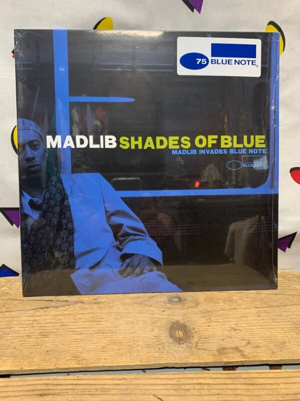 product details: BW VINYL MADLIB - SHADES OF BLUE photo