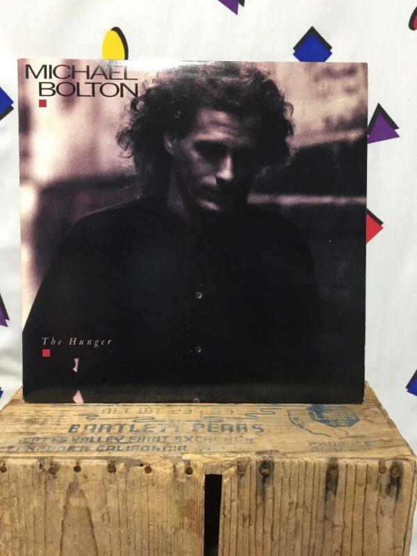 product details: VINYL MICHAEL BOLTON - THE HUNGER FUNK / SOUL VINYL LP ALBUM photo