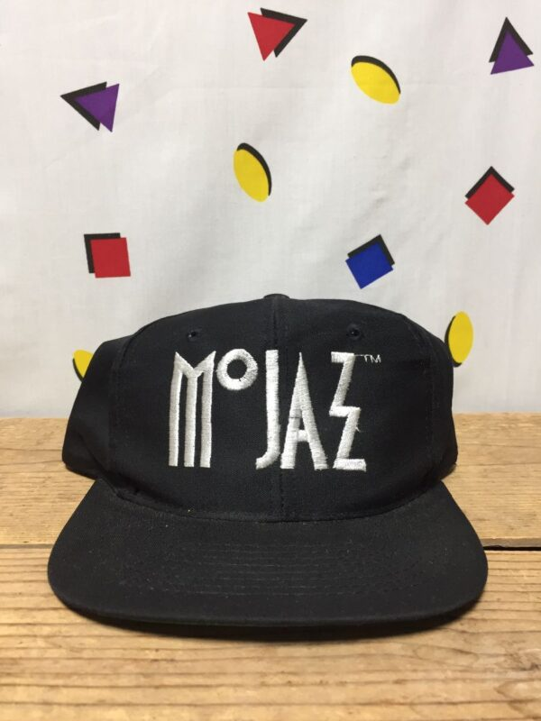 product details: VINTAGE 1990S MO JAZZ EMBROIDERED SNAPBACK HAT photo