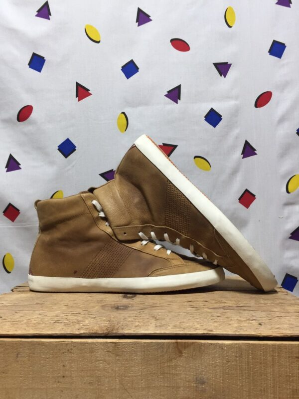 product details: ALL LEATHER BASLEY HI-TOP SNEAKERS DENIM & SUPPLY BY RALPH LAUREN photo