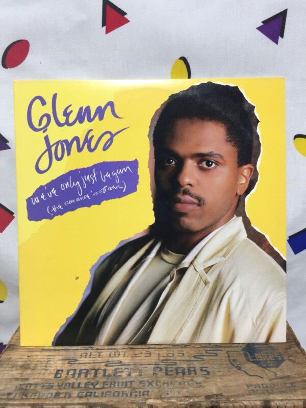 product details: GLENN JONES – WEVE ONLY JUST BEGUN (THE ROMANCE IS NOT OVER) - ELECTRONIC, HIP HOP, FUNK / SOUL VINYL LP ALBUM photo