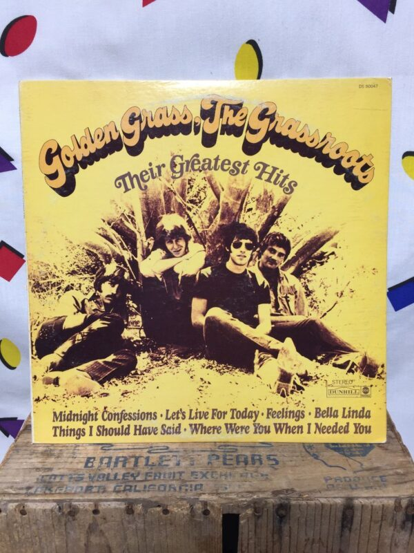product details: THE GRASS ROOTS – GOLDEN GRASS: THEIR GREATEST HITS photo