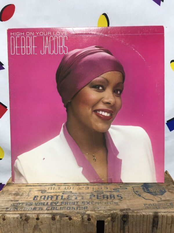 product details: DEBBIE JACOBS – HIGH ON YOUR LOVE #DISCO photo