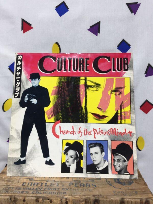 product details: CULTURE CLUB – CHURCH OF THE POISON MIND POP VINYL 12 SINGLE photo
