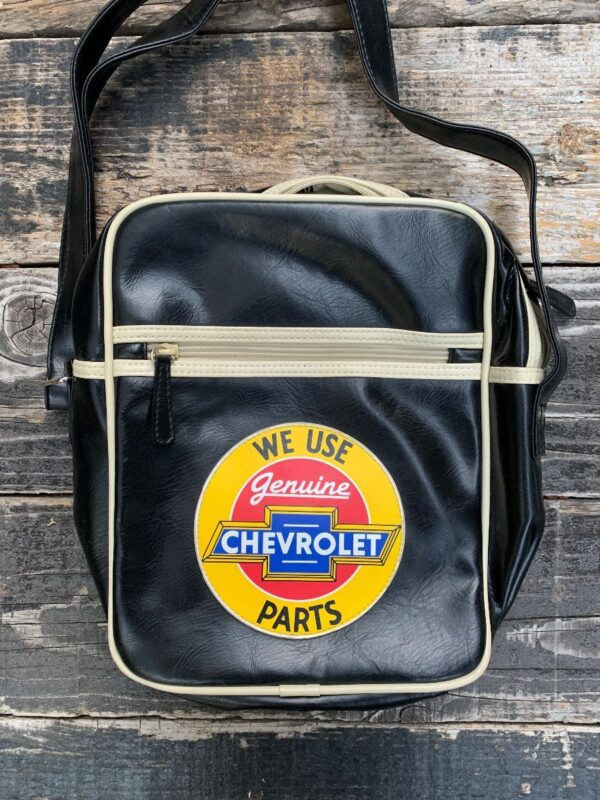 product details: VINYL CHEVROLET SHOULDER BAG photo