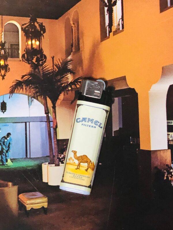 product details: VINTAGE DEADSTOCK CAMEL CIGARETTES LIGHTER *WORKING photo