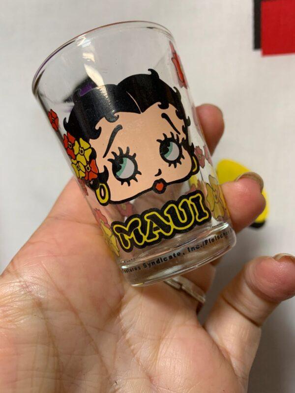 product details: SUPER CUTE MAUI BETTY BOOP SHOT GLASS photo