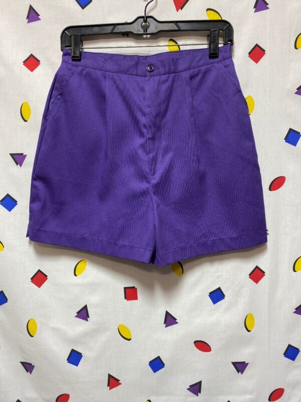 product details: 1980S CLASSIC HIGH-WAISTED SHORTS FRONT PLEAT photo