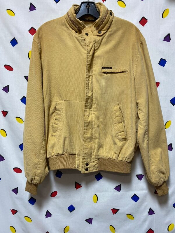 product details: MEMBERS ONLY LS BOMBER JACKET MINI CORDUROY FABRIC AS-IS photo