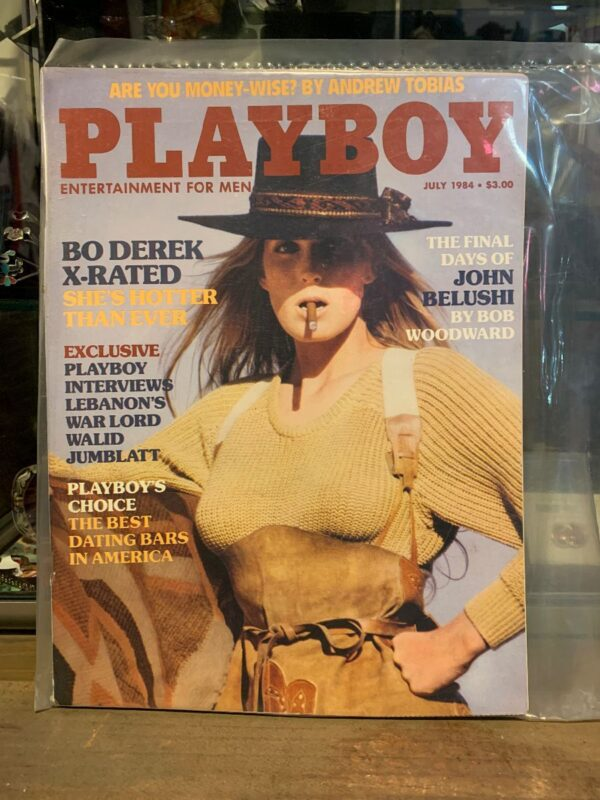 product details: PLAYBOY MAGAZINE - JULY 1984 BO DEREK photo