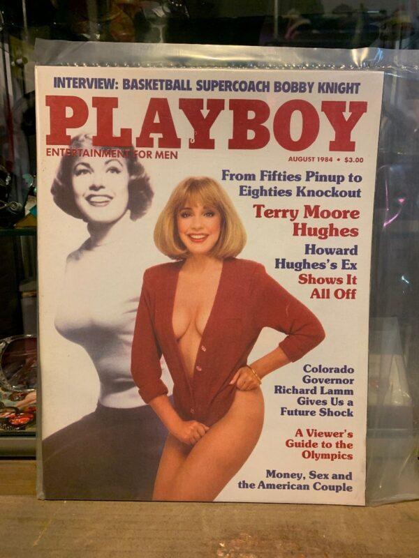 product details: PLAYBOY MAGAZINE - AUG 1984 photo