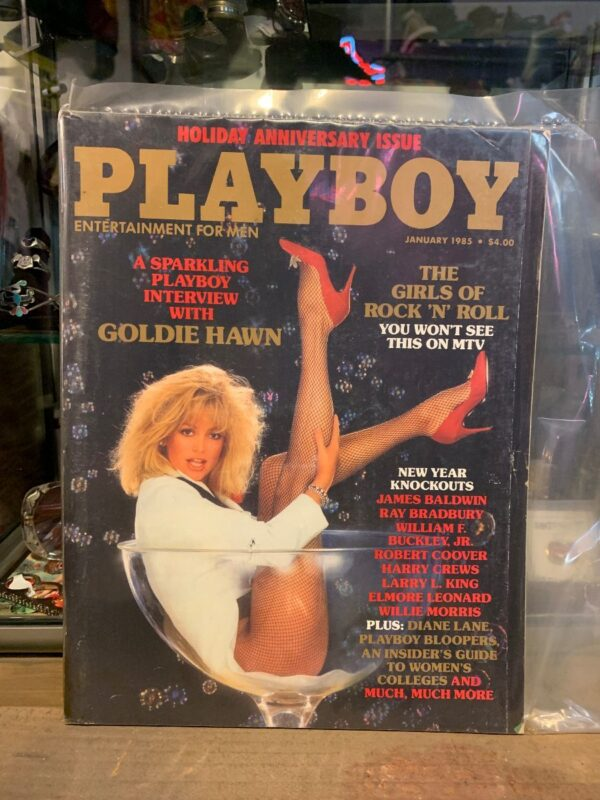 product details: PLAYBOY MAGAZINE - JAN 1985 GOLDIE HAWN photo