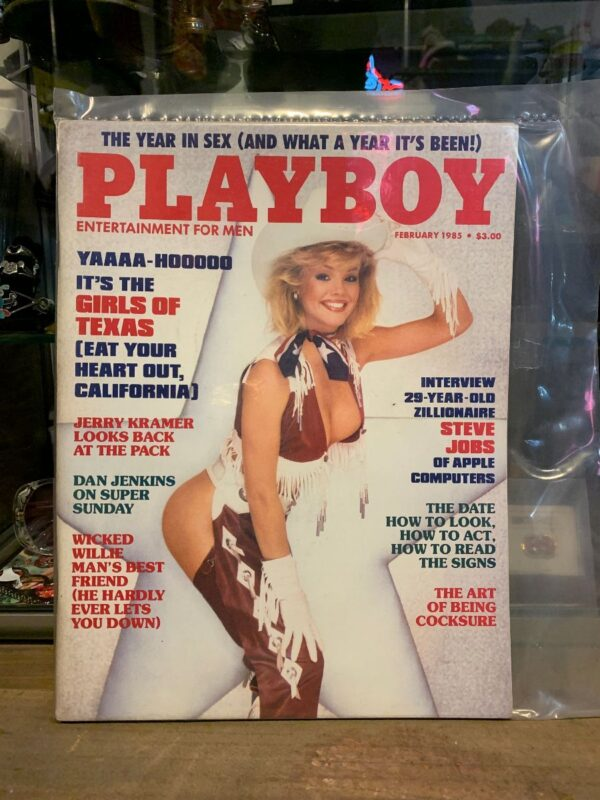 product details: PLAYBOY MAGAZINE - FEB 1985 GIRLS FROM TEXAS photo