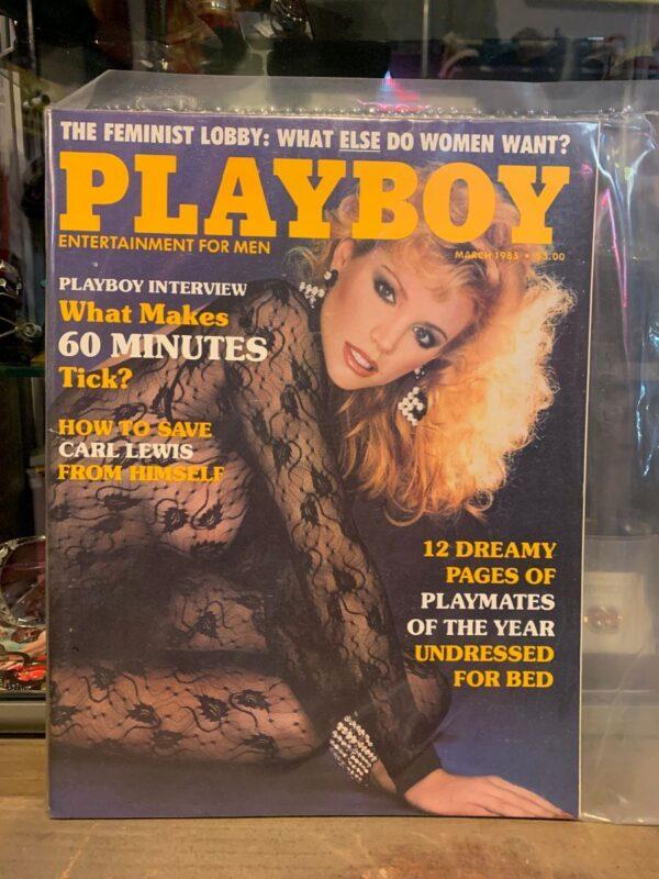 product details: PLAYBOY MAGAZINE - MAR 1985 photo