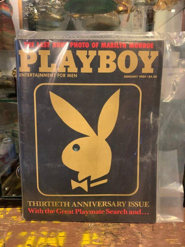 product details: PLAYBOY MAGAZINE - JAN 1984 THIRTEENTH ANNIVERSARY ISSUE photo