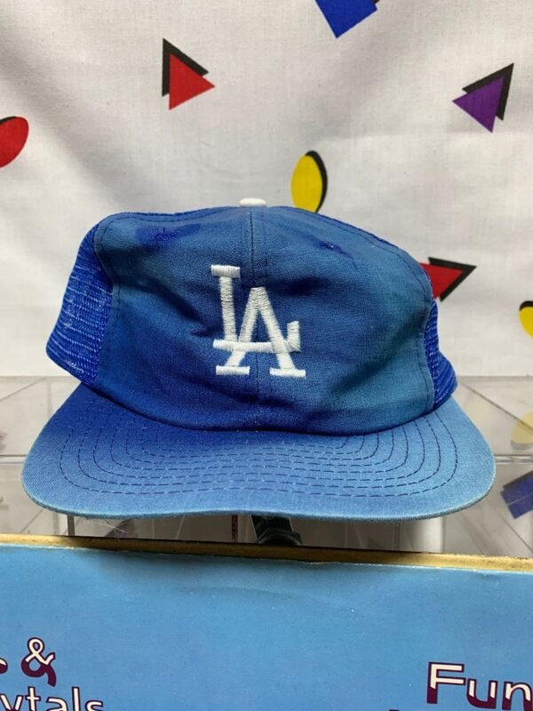 product details: FADED BLUE LOS ANGELES DODGERS BASEBALL HAT photo