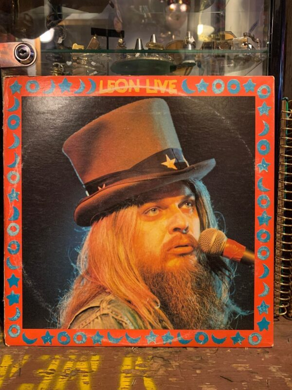 product details: LEON RUSSELL ?- LEON LIVE photo