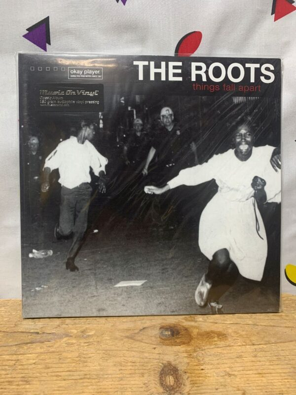 product details: BW VINYL THE ROOTS - THINGS FALL APART photo