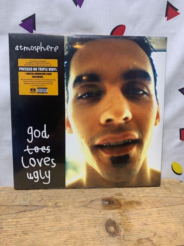 product details: BW VINYL ATMOSPHERE - GOD LOVES UGLY photo
