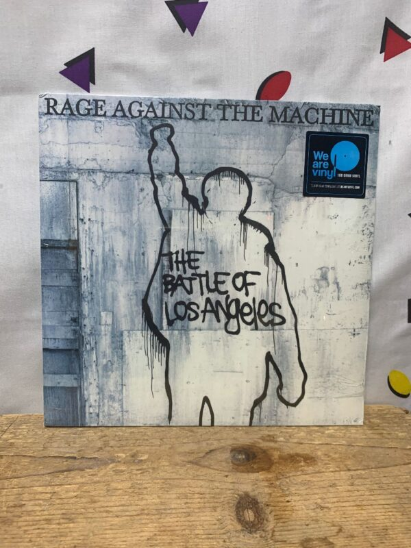 product details: BW VINYL RAGE AGAINST THE MACHINE - THE BATTLE OF LOS ANGELES photo