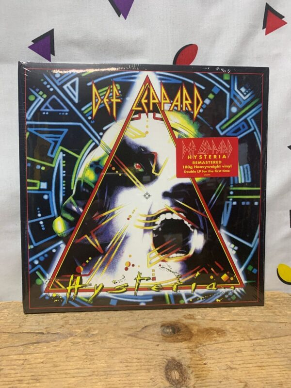 product details: BW VINYL DEF LEPPARD - HYSTERIA photo
