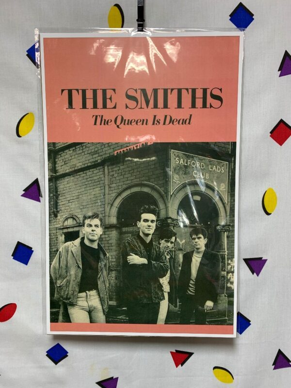 product details: THE SMITHS POSTER - THE QUEEN IS DEAD photo