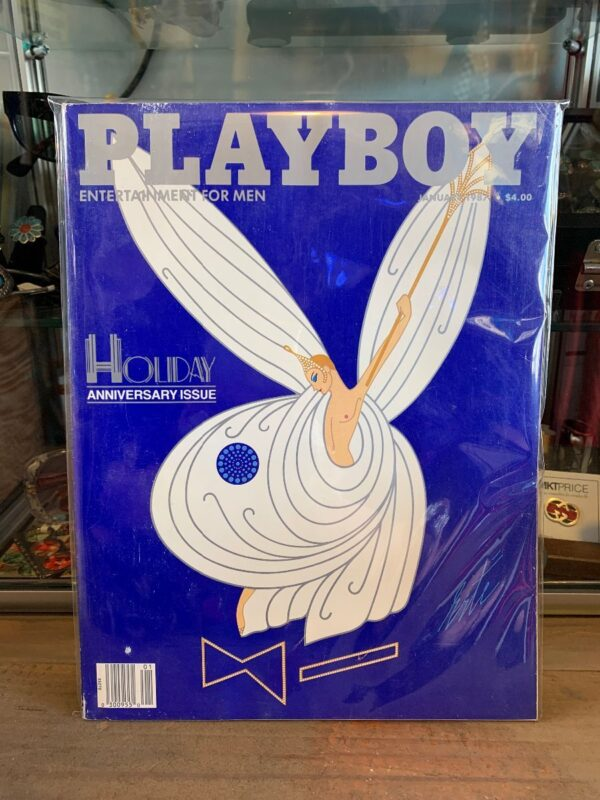 product details: PLAYBOY MAGAZINE - JAN 1987 HOLIDAY ANNIVERSARY ISSUE photo