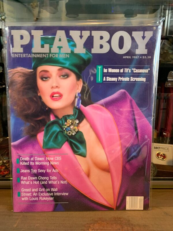product details: PLAYBOY MAGAZINE - APRIL 1987 photo