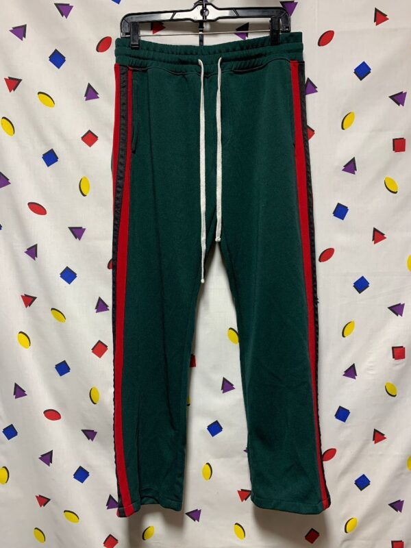 product details: RETRO GUCCI COLOR-WAY TEARAWAY TRACK PANTS photo