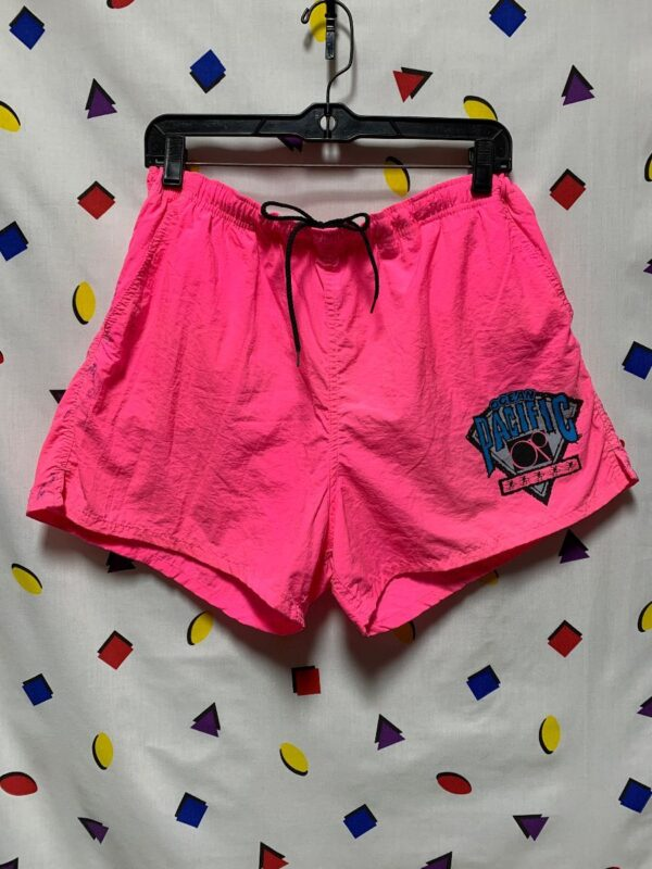 product details: DAYGLOW 1980S SWIM TRUNK SHORTS  OCEAN PACIFIC AS-IS photo