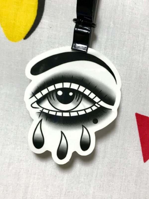 product details: TEARDROP EYE CRYING STICKER  *LOCAL ARTIST photo