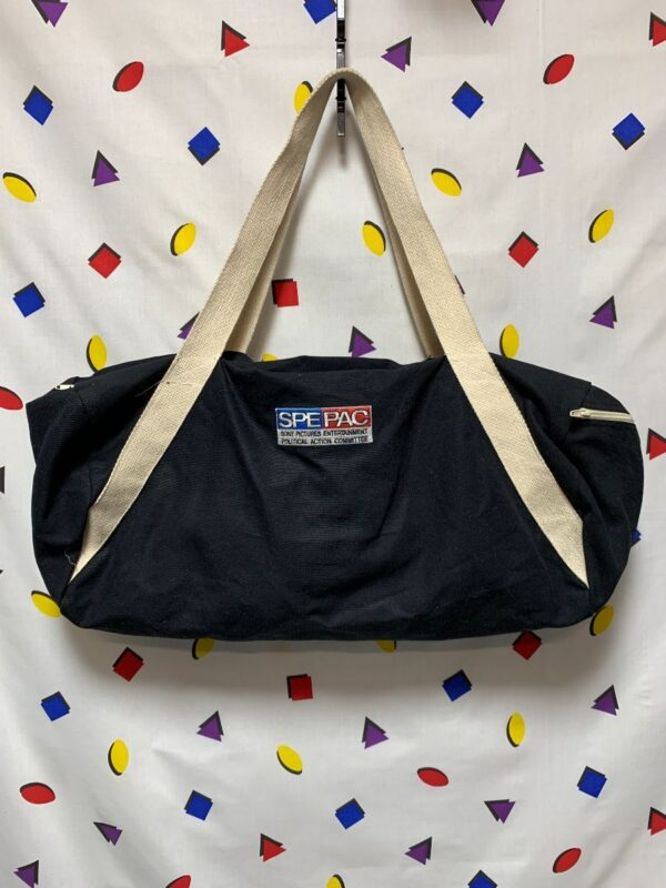 product details: SPEPAC DUFFEL BAG SONY PICTURES ENTERTAINMENT POLITICAL ACTION COMMITTEE MADE IN USA AS-IS photo