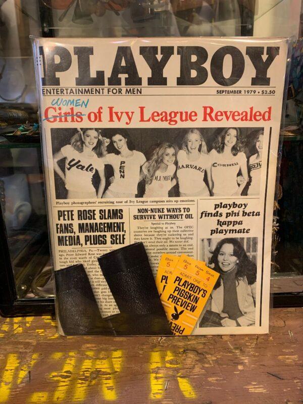 product details: PLAYBOY MAGAZINE - SEPT 1979 - WOMEN OF IVY LEAGUE REVEALED photo