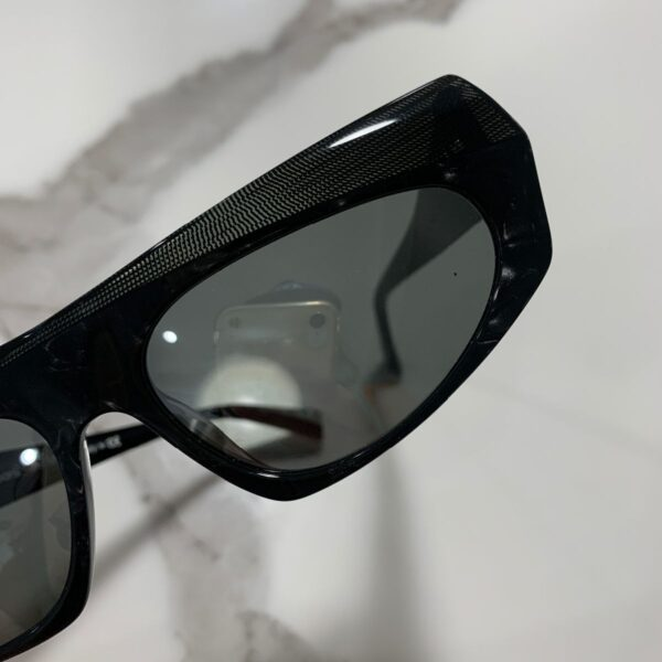 product details: 1960S STYLE LUXURY SHELL INLAY MOD EXAGGERATED SUNGLASSES photo