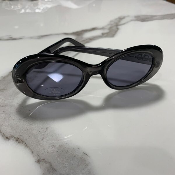 product details: VALENTINO 1960S MOD STYLE OVAL SUNGLASSES photo