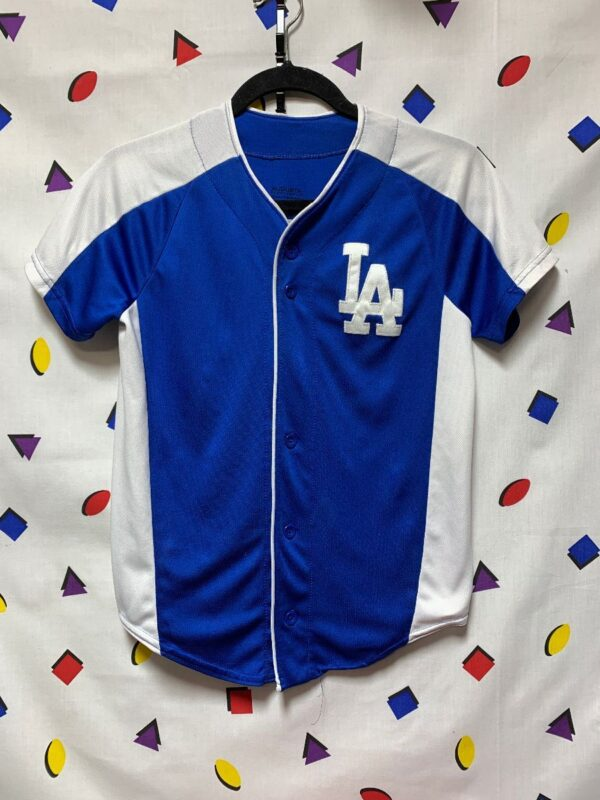 product details: MLB LOS ANGELES DODGERS MINI JERSEY LA photo