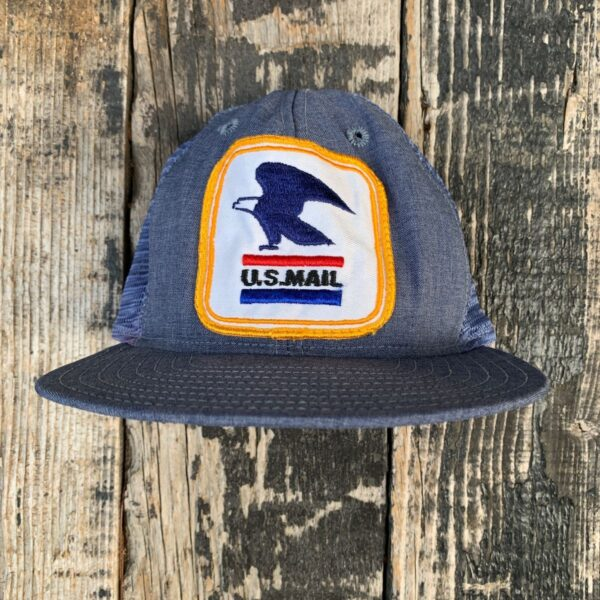 product details: USPS MAILMAN HAT MAIL CARRIER UNITED STATES POSTAL SERVICE EAGLE LOGO photo