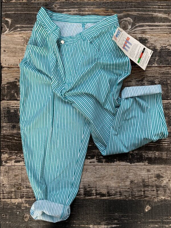 product details: 1980S DEADSTOCK PINSTRIPE MOM PANTS LARGER FIT NWT NOS photo