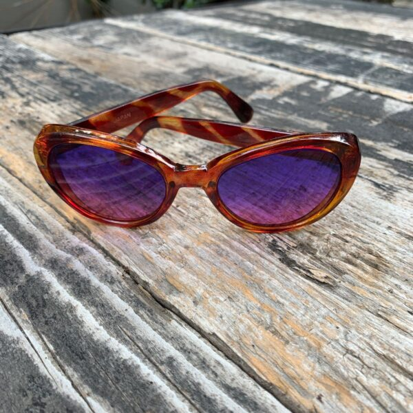 product details: TORTOISE FRAME W/ CUSTOM LENSES MADE IN JAPAN AS-IS photo